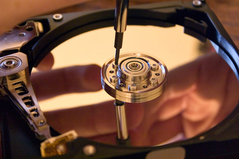 Disco Duro - Platos magnéticos