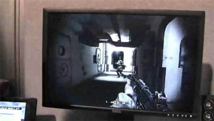 Lenovo IdeaPad S12 con Call of Duty 4