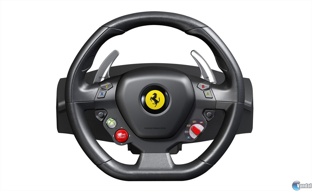 Presentan Nuevo Volante De Ferrari Exclusivo Para Xbox 360