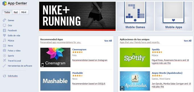 Facebook estrena su propia tienda de aplicaciones para ...