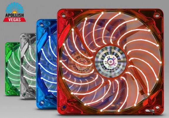 Enermax lanza los ventiladores apollish vegas de 120 mm y 140 mm