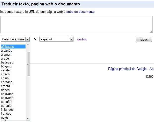 m s idiomas disponibles en google traductor islabit