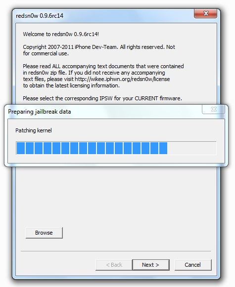 Jailbreak Untethered iOS 4.3.2 con Redsn0w 0.9.6rc14 Jailbreak-ios-432-4