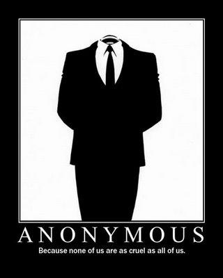 grupo ciberactivista Anonymous