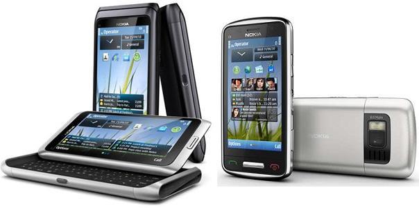 Nokia presentó sus smartphones para ejecutivos