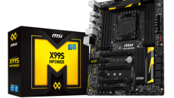 MSI lanza al mercado la placa base X99S MPOWER