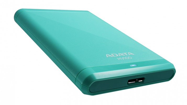 ADATA lanza su elegante disco duro externo HV100