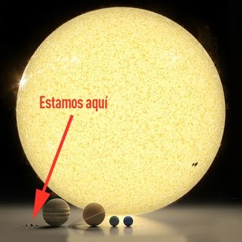 Comparació entra alguns planetas