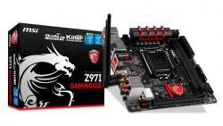 MSI mejora la placa base Z97I GAMING ACK con Killer WIFI, M.2 y un nuevo diseño del PCB