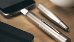 Power Pen, un bolígrafo que además carga la batería del móvil