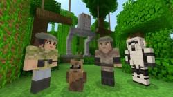 Skins de Star Wars llegan a Minecraft para Xbox