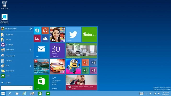 Microsoft brindará más detalles sobre Windows 10 el 21/1