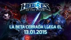 La Beta Cerrada de Heroes of The Storm llegará el 13 de enero de 2015