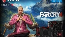 MSI incluirá Far Cry 4 en la serie de placas base gaming
