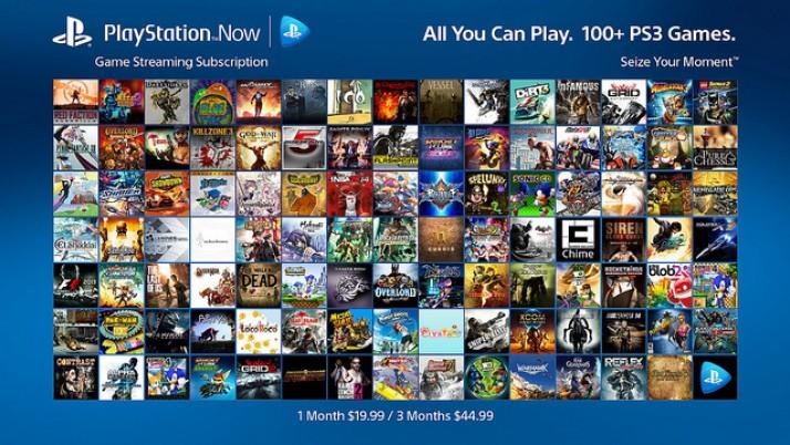 PlayStation Now: más de 100 títulos de PS3 llegan a la PS4