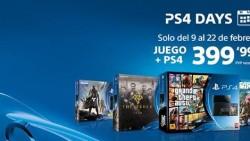 Sony reedita los PS4 Days: consola más juego por 399 euros