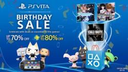 PlayStation Vita y sus espectaculares descuentos aniversario