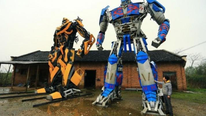 ¿Te gustan los Transformers? Pues existen en la vida real