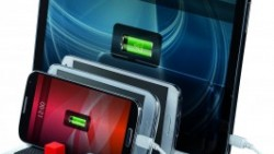 Mantén siempre tus dispositivos con batería gracias a la nueva estación de multicarga de Hama