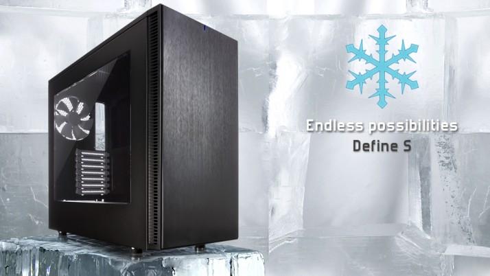 Fractal Design presenta su nueva torre Define S