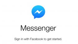 Facebook lanza su propio Messenger Web