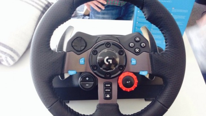 Logitech G29: ¿un nuevo volante compatible con la PS4?
