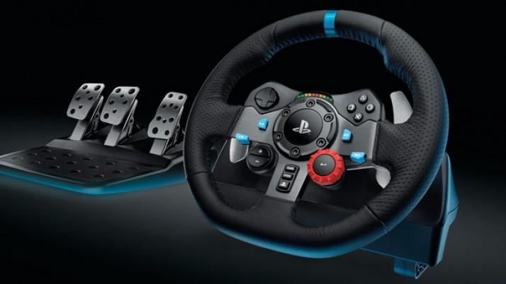 Logitech G29: los videojuegos de coches sin volante no son lo mismo