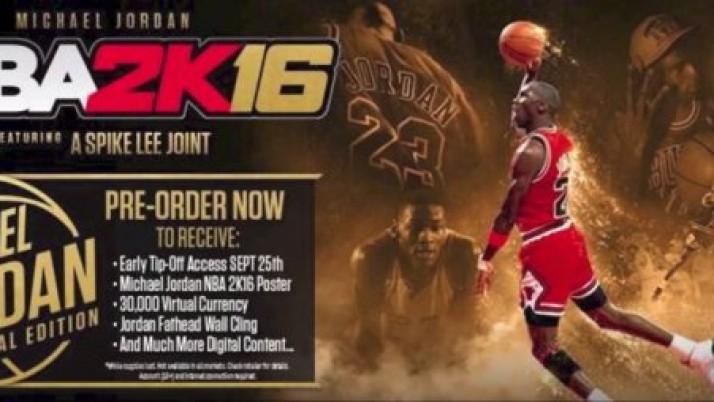 Michael Jordan regresa con fuerza en el NBA 2K16