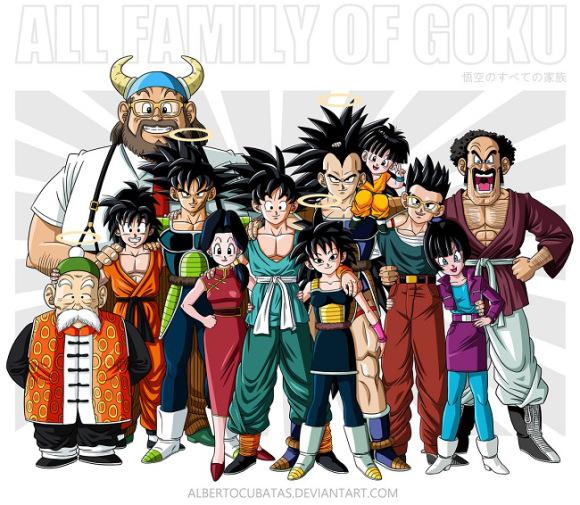 Familias Dragon Ball 2