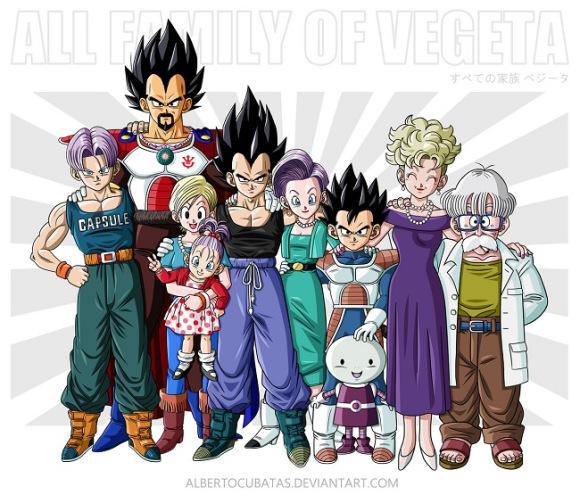 Familias Dragon Ball 3