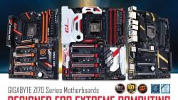 GIGABYTE presenta las placas base de la serie 100 oficialmente