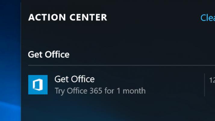 ¿Cómo evitar la publicidad de Office en Windows 10? – Truco