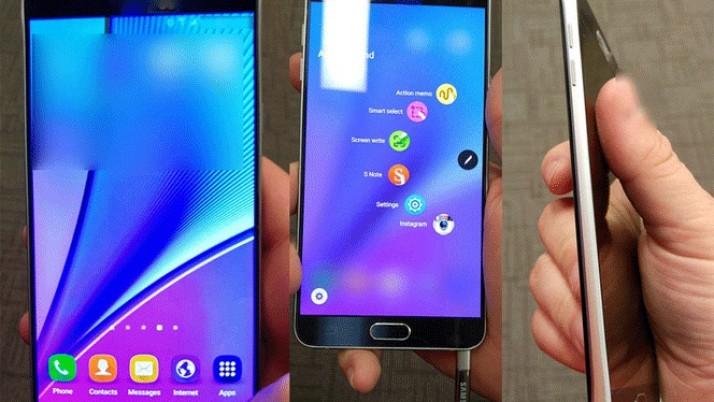 Samsung Galaxy Note 5 – Primeras imágenes reales