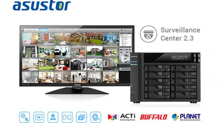 ASUSTOR lanza oficialmente el Centro de Vigilancia 2.3