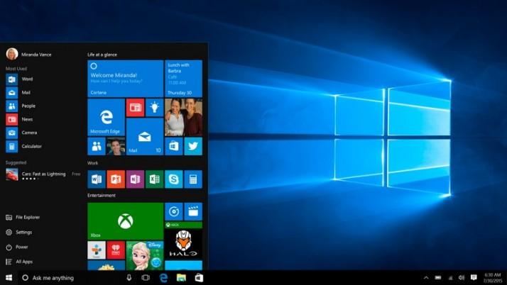 Windows 10 ya ocupa el 5% del mercado de ordenadores