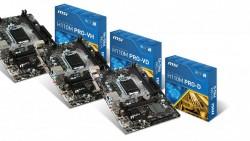 MSI lanza las nuevas placas base de las H170 PRO Series