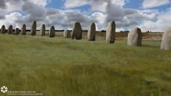 Científicos descubren monumentos prehistóricos de piedra cerca de Stonehenge