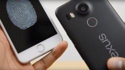 El Nexus 5X se desbloquea más velozmente que el iPhone 6s