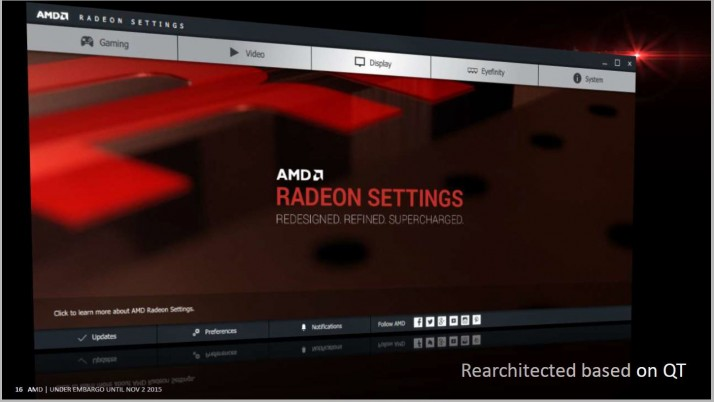 Descargar el AMD Radeon Software Crimson Edition