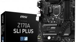 MSI anuncia las nuevas placas madre Z170 SLI Plus