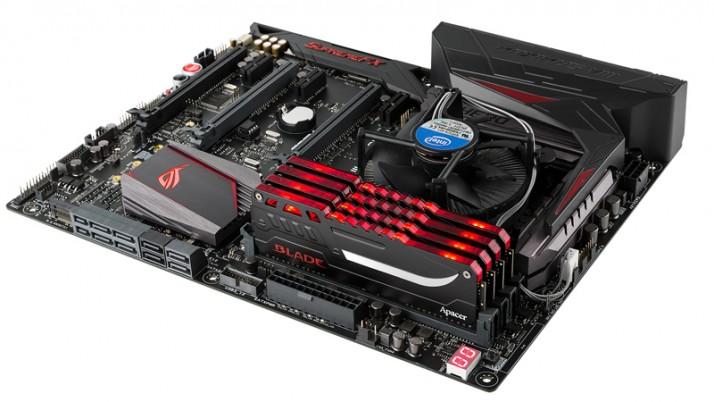 Apacer anuncia las nuevas memorias DDR4 Blade Fire