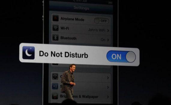 iPhone No Molestar Silencio