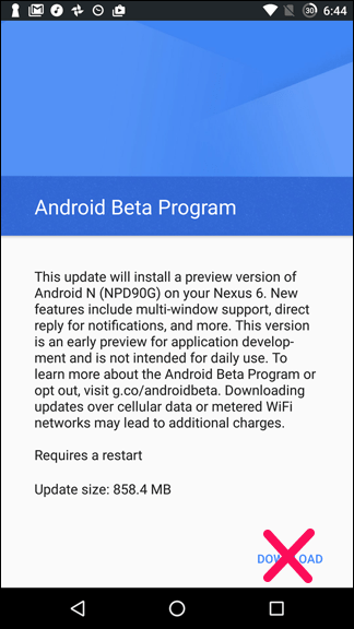 Android Nougat3.2