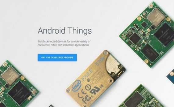 Google Android Things Internet de las Cosas