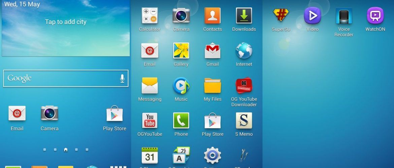 Samsung TouchWiz Samsung Experience