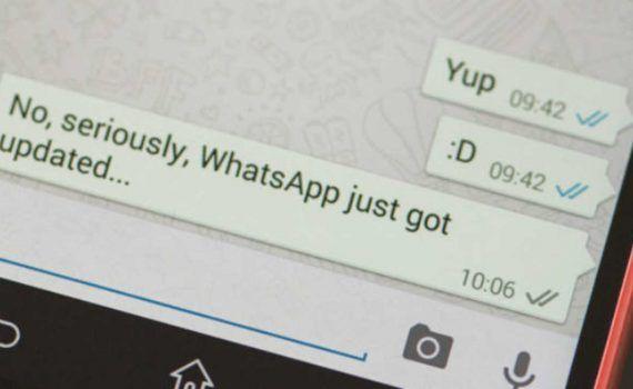 WhatsApp eliminar mensajes enviados 3