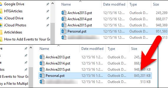 reducir archivo de datos de Outlook Portada 2