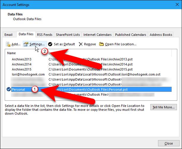 """La carpeta que tenemos de elementos eliminados no es grande, pero debemos vaciarla de todos modos antes de compactar nuestro archivo de datos. Haga clic en """"Cerrar"""".14"""