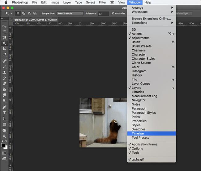 Superponer textos sobre GIFS animados en Photoshop - islaBit