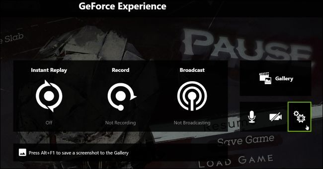 Nvidia Geforce Experience 3